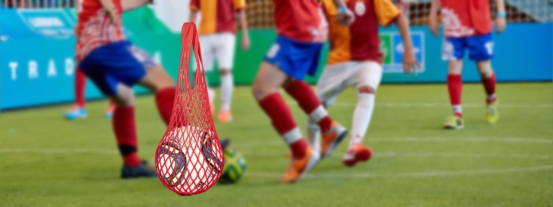 Авоська для переноса и хранения спортивных товаров