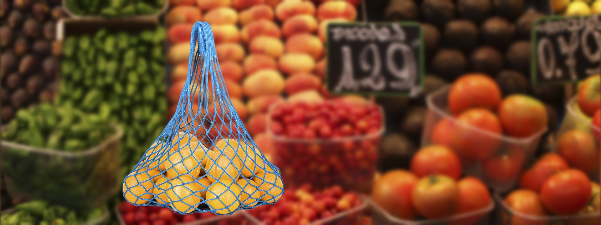 Авоська для переноса и хранения фруктов