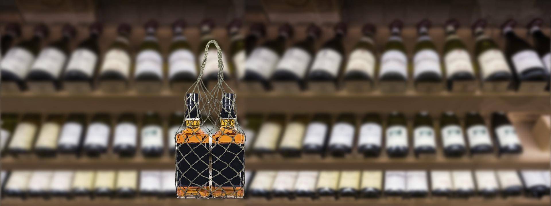 Авоська промо-упаковка для алкогольной продукции